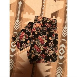 Free People Floral Cords